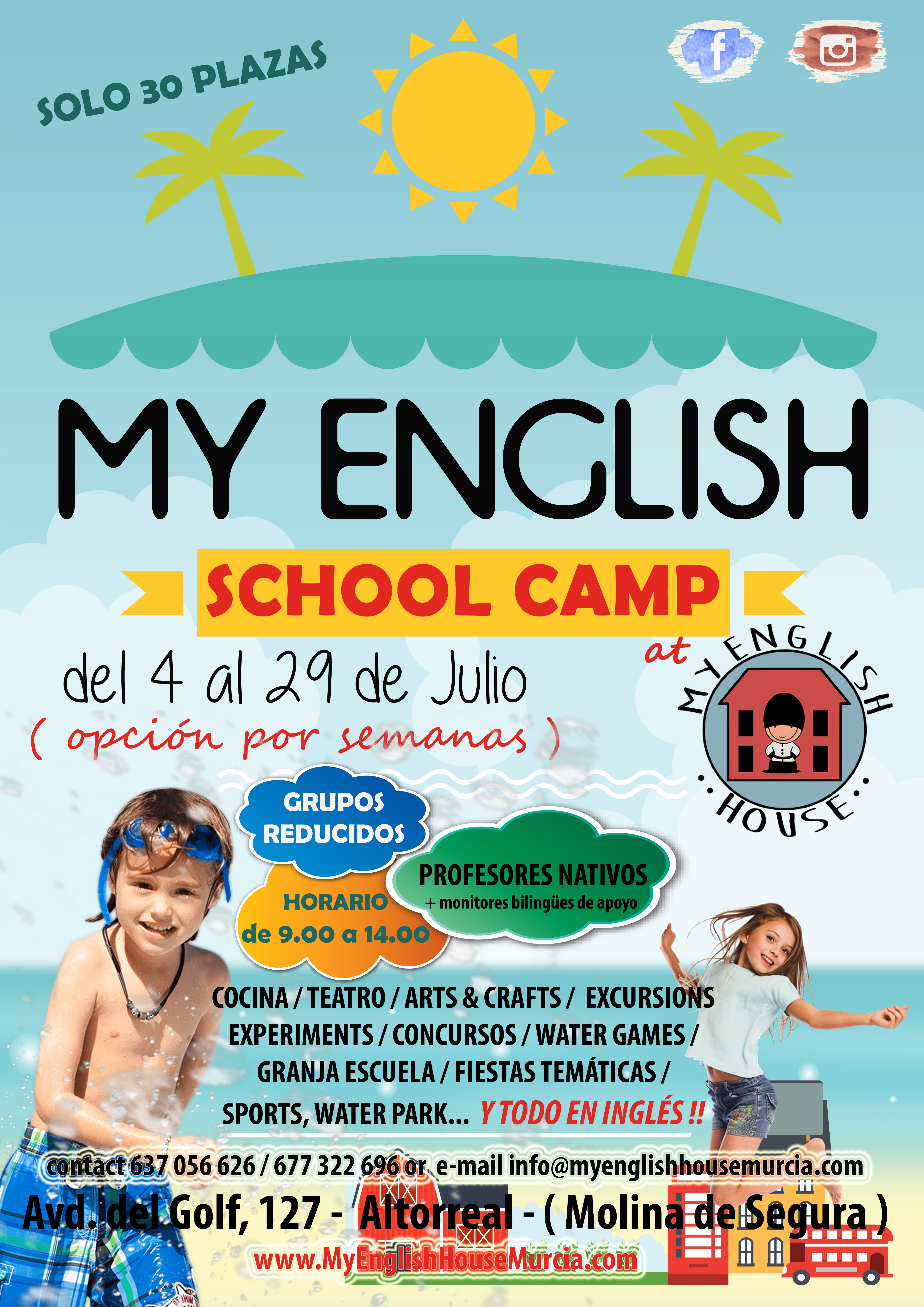 MY ENGLISH SCHOOL CAMP