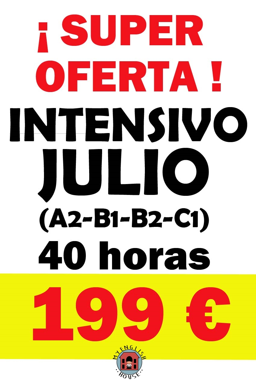 SUPER OFERTA INGLÉS INTENSIVO SUMMER 2016 !!