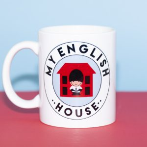 Taza My English House